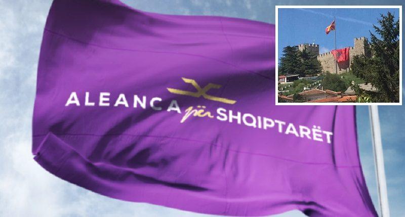Aleanca për Shqiptarët reagon ashpër për dënimin e arbëreshit që ngriti flamurin Kombëtarë në Kalanë e Ohrit