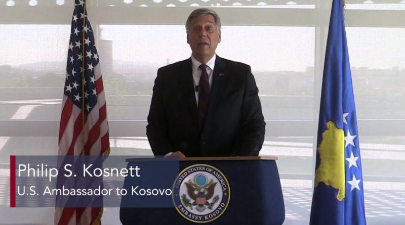 Kosnett: Populli i SHBA-së dhe Kosovës ndajnë vlera të përbashkëta