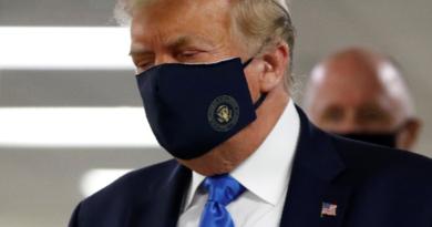 Trump për herë të parë në opinion me maskë mbrojtëse