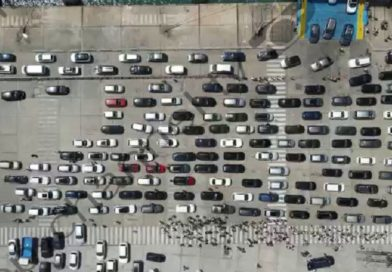 Pamjet me dron/ Fluks në Portin e Durrësit, 5 tragete mbërrijnë nga Bari dhe Ankona, 'zbarkojnë' 7,500 udhëtarë